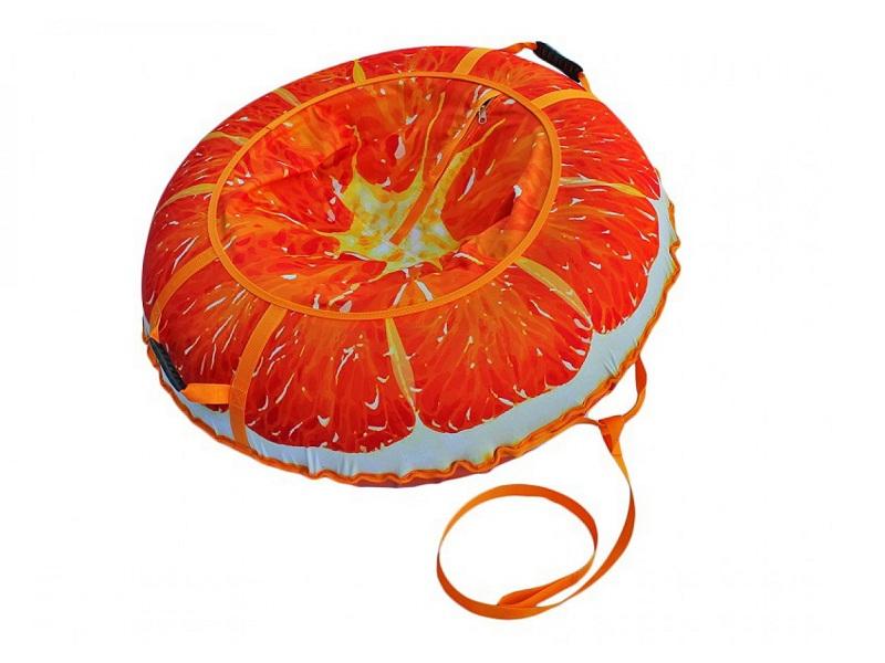 фото Тюбинг Митек Сочный апельсин 110 см