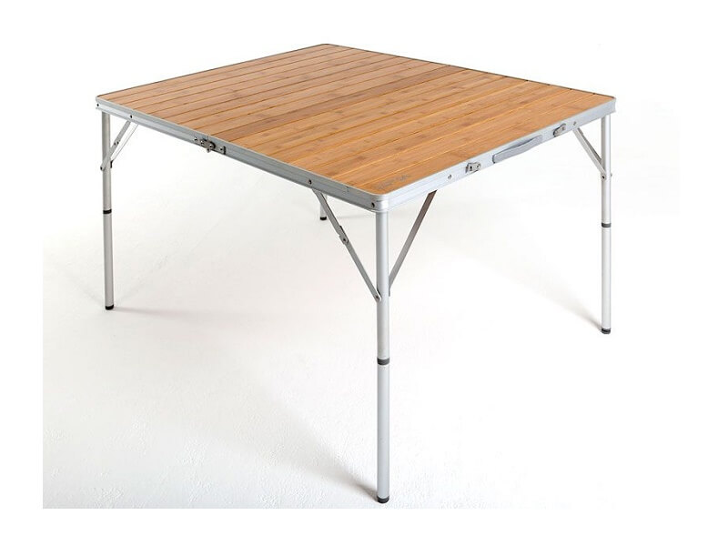 фото Кемпинговый стол Maverick Bamboo с бамбуковой столешницей