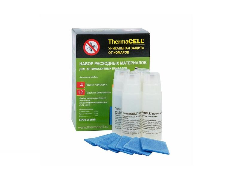 фото Набор запасной Thermacell (4 газовых картриджа + 12 пластин)