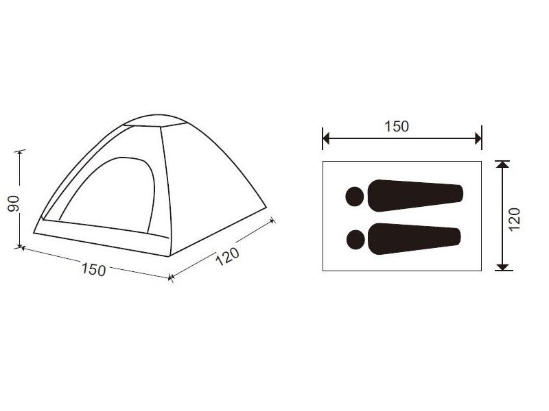 фото Детская палатка King Camp 3034 Dome Junior