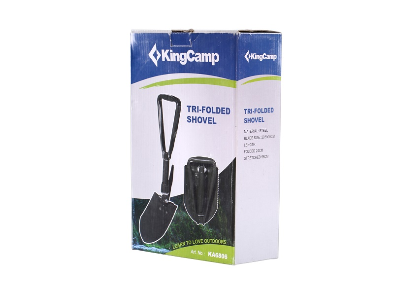 фото King Camp - Лопата 6806 Three folding shovel