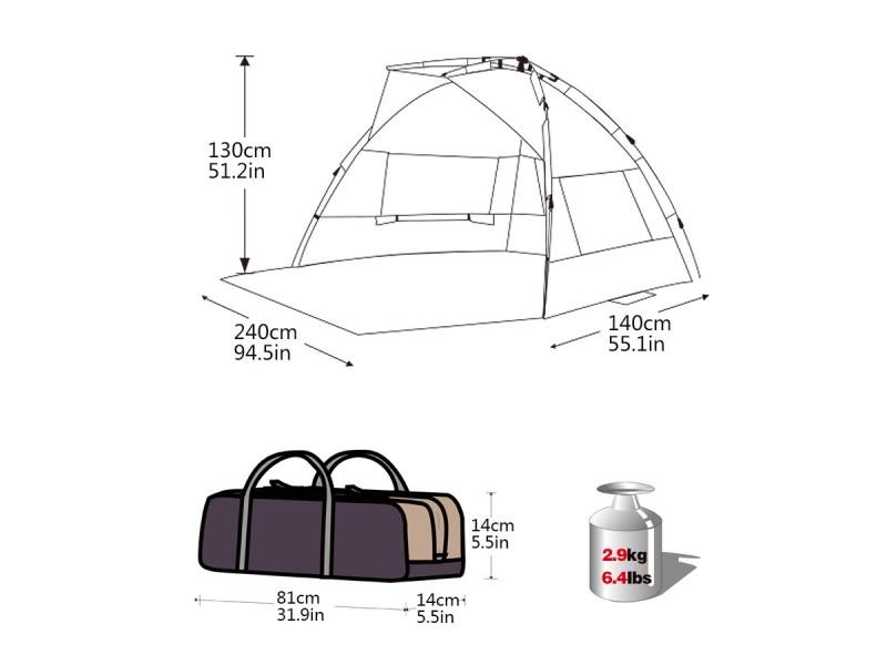 фото Палатка King Camp 7004 Missisipi Fantasy