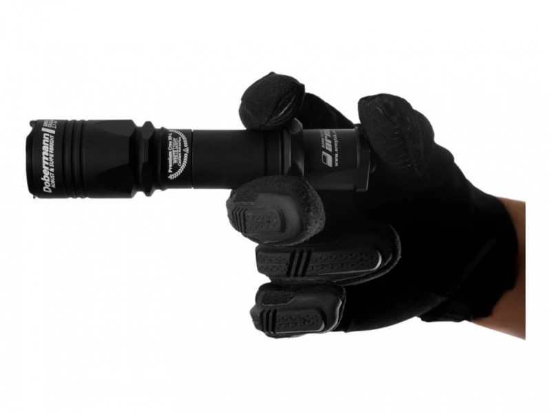 фото Тактический фонарь Armytek Armytek Dobermann XP-E2 F02002BR (красный свет)