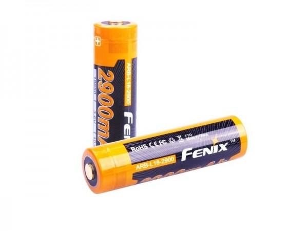 Аккумулятор 18650 Fenix ARB-L18 (2900mAh)
