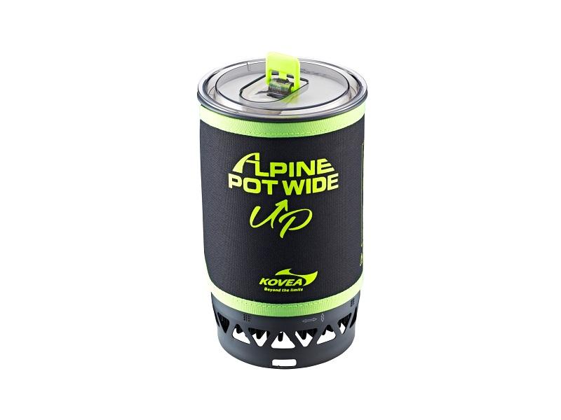 фото Газовая горелка Kovea Alpine Pot Wide Up 1,5L KGB-0703WU