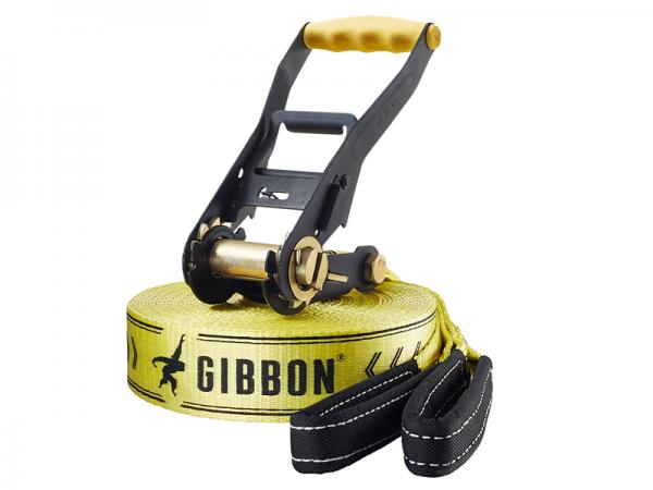 Комплект Gibbon Classic 15 m слэклайн + защита для дерева