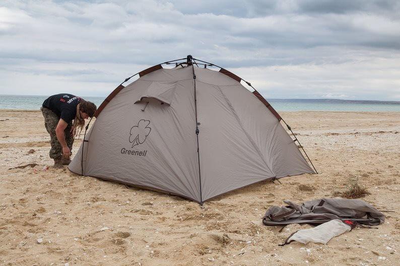 фото Палатка Greenell Клер плюс 3