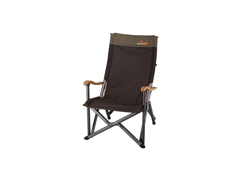 фото Кресло складное Kovea FIELD LUXURY BLACK CHAIR