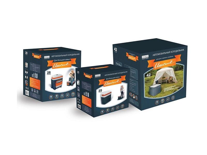 фото Холодильник автомобильный Camping World Unicool 25L (цвет - черный)