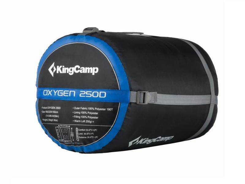 фото Спальник King Camp 3143 Oxygen 250D -3C 220x150 (t°комф. 12)
