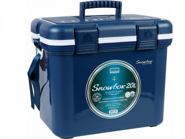 Контейнер изотермический Camping World Snowbox Marine 20 л (цвет - синий)