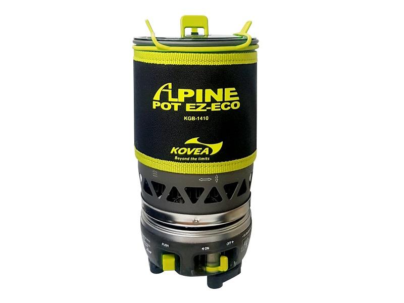 фото Газовая горелка Kovea Alpine Pot EZ-ECO KGB-1410