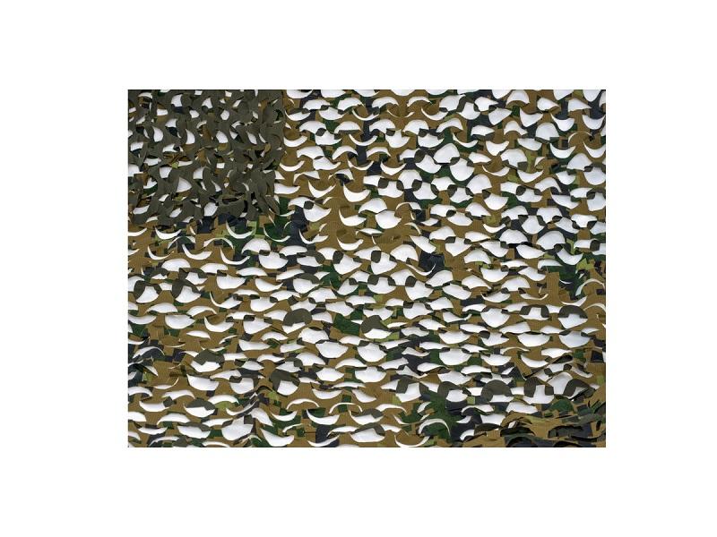 фото Маскировочная сетка Нитекс Пейзаж Лес 3D 2,2х3