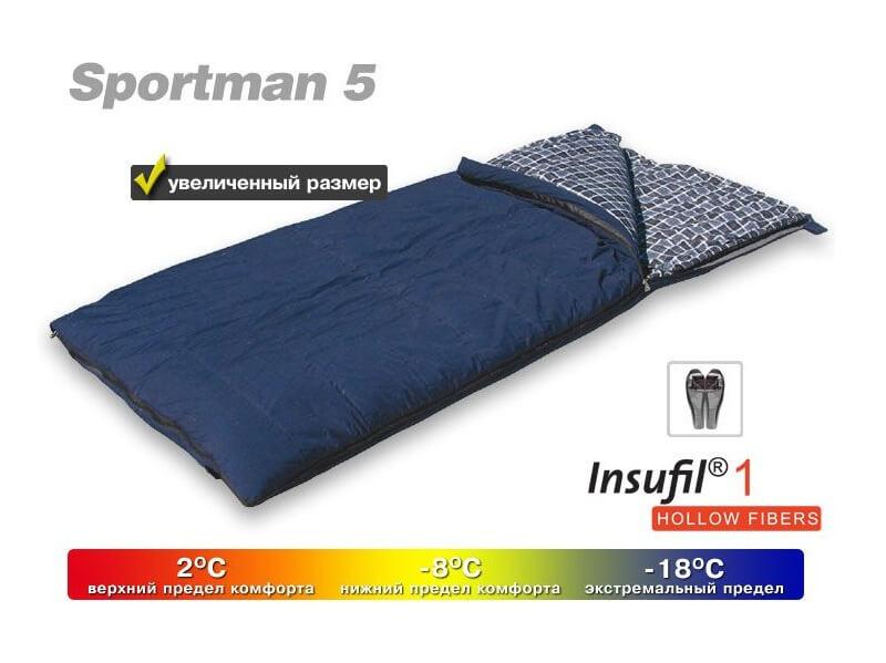 фото Широкий спальник Maverick Sportman 5 (t°комф. 2)