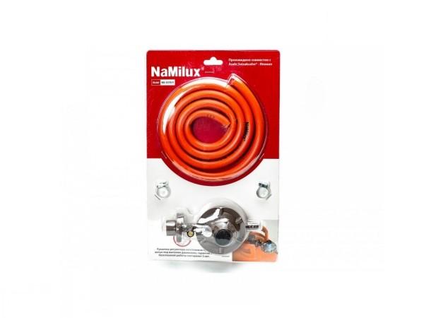 Регулятор давления сжиженного газа NaMilux NA-337 со шлангом