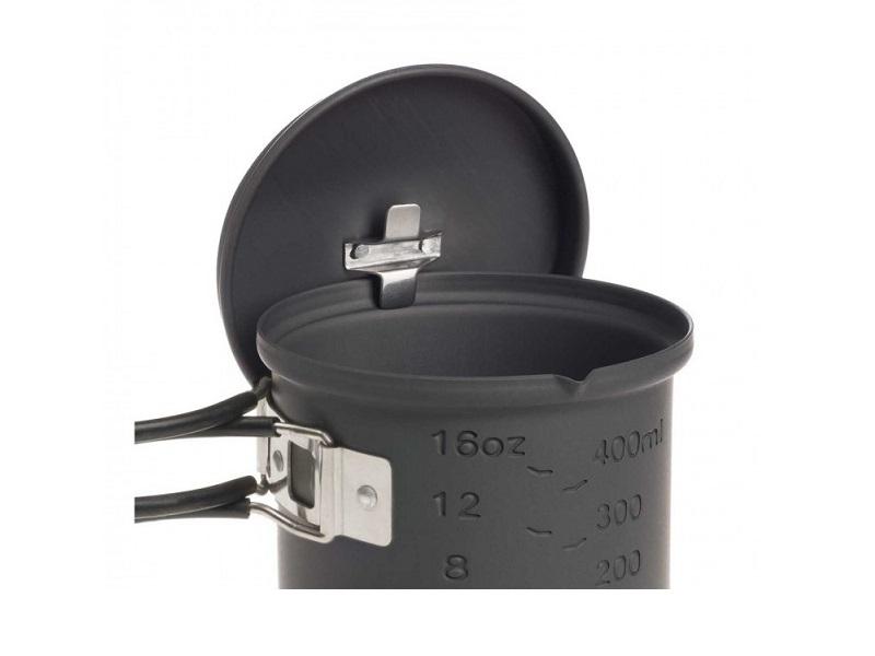 фото Набор для приготовления пищи Esbit CS585HA, с горелкой под сухое горючее, 0.585 л