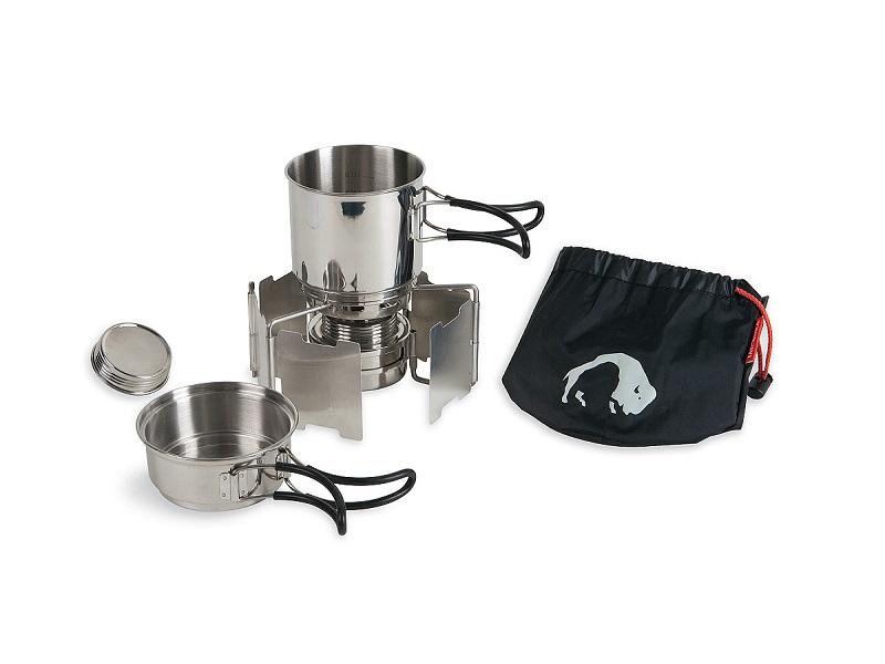 фото Набор посуды с горелкой Tatonka Alcohol Burner Set