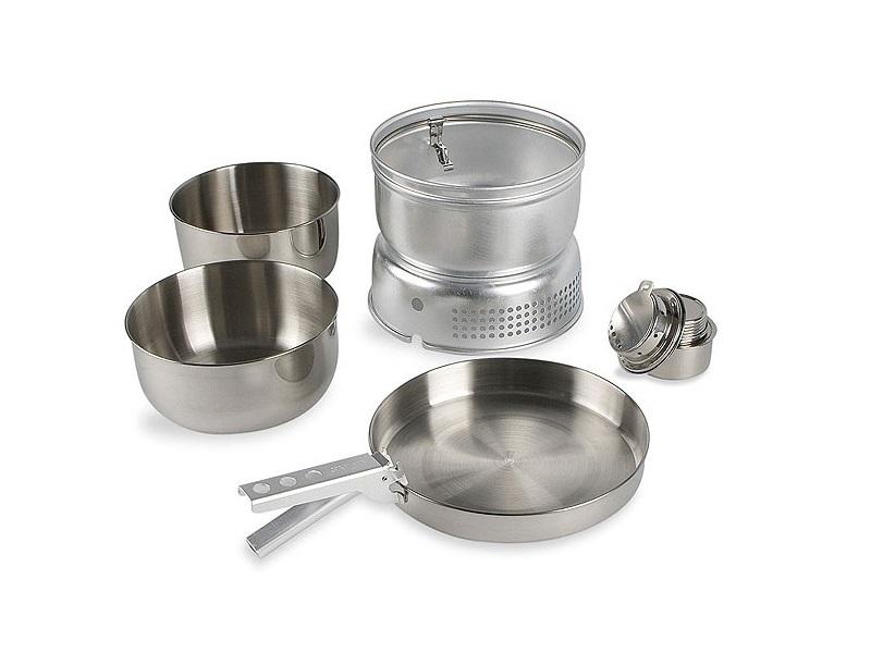 фото Набор посуды со спиртовой горелкой Tatonka Multi Set + Alcogol Burner