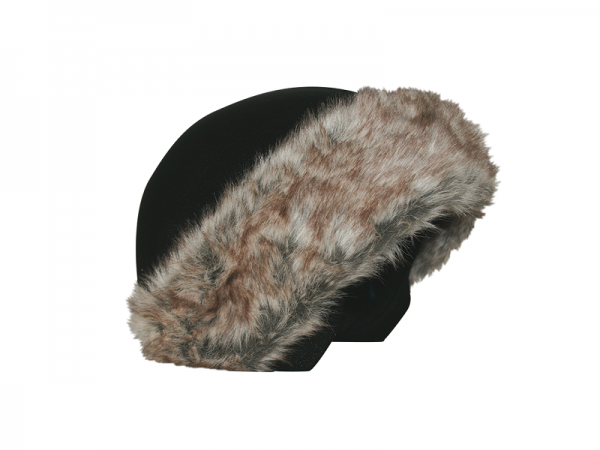 Нашлемник Coolcasc E001 Brown Fur