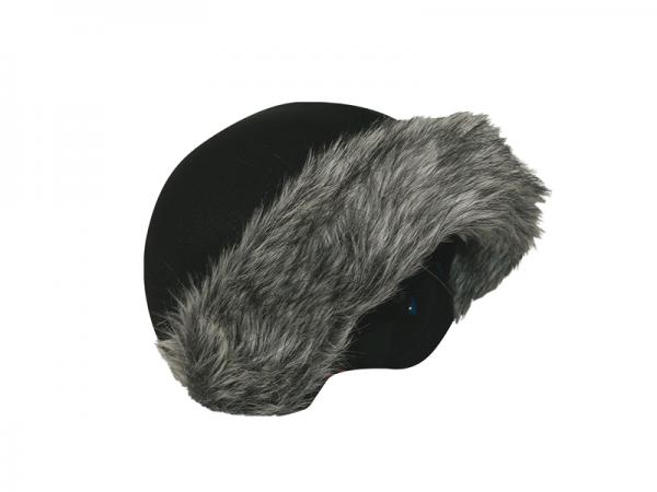 Нашлемник Coolcasc E002 Grey Fur