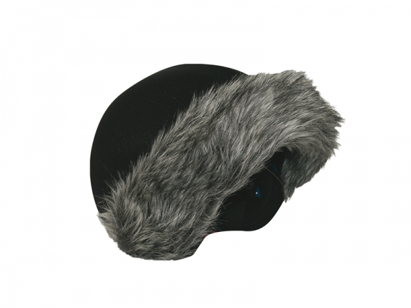 Нашлемник Coolcasc E002 Grey Fur
