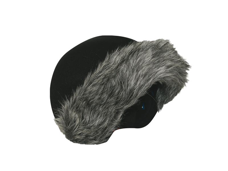 фото Нашлемник Coolcasc E002 Grey Fur