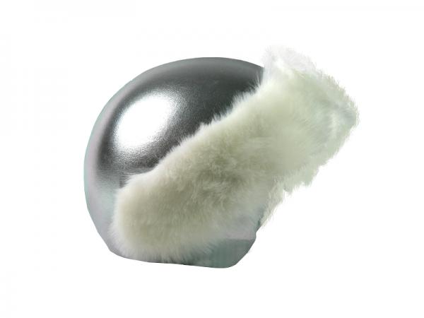 Нашлемник Coolcasc E004 Silver