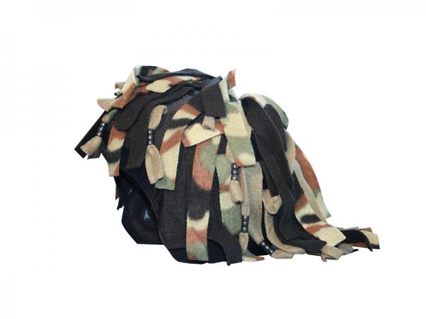 Нашлемник Coolcasc S059 Camouflage Rastafarian