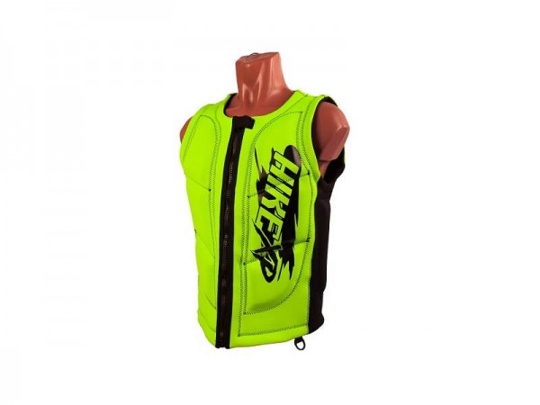 Неопреновый жилет hikeXp Anti shock Green-black