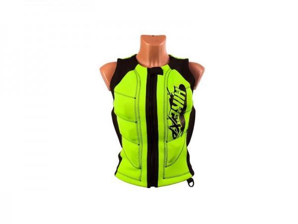 Неопреновый жилет hikeXp Anti shock Green-black Woman