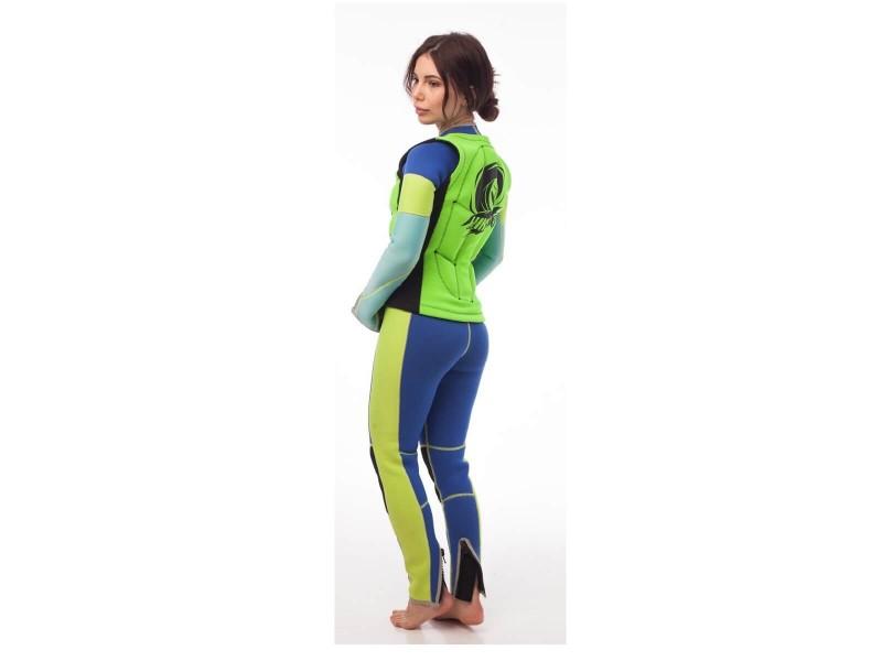 фото Неопреновый жилет hikeXp Anti shock Green-black Woman