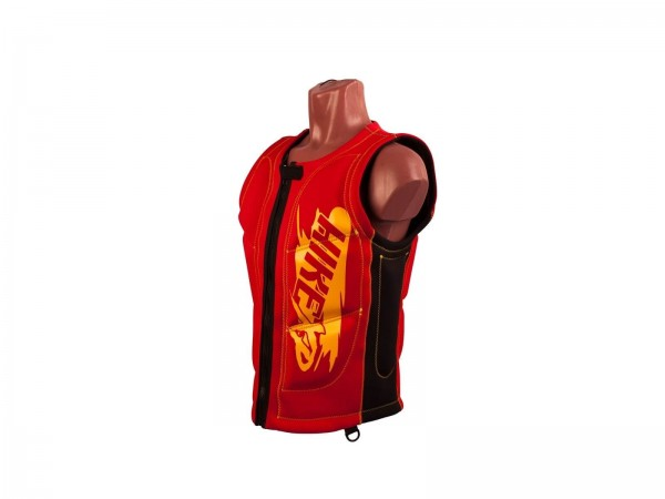 Неопреновый жилет hikeXp Anti shock Red-Black
