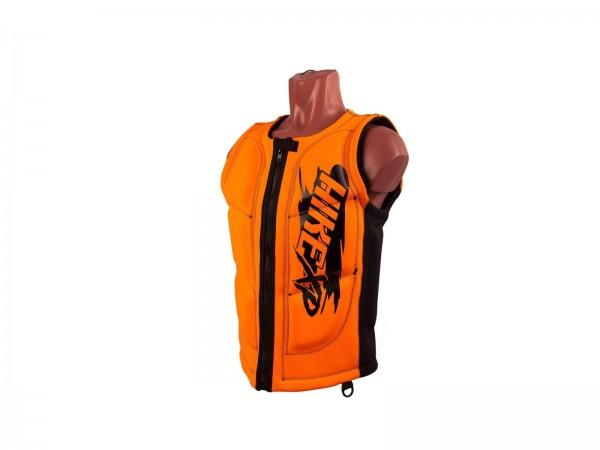 Неопреновый жилет hikeXp Black-Orange