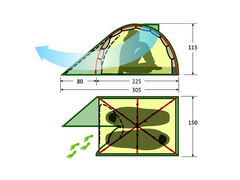 фото Палатка Alexika Karok 2