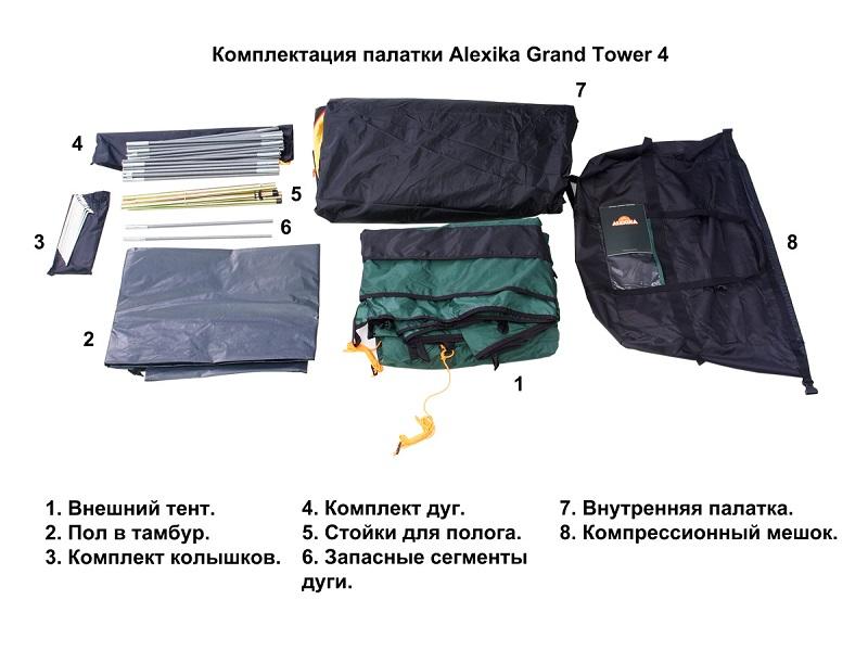 фото Палатка Alexika Grand Tower 4