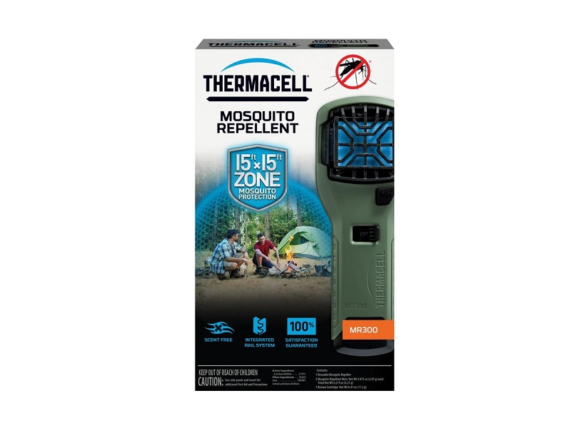 фото Прибор противомоскитный ThermaCell MR-300 Repeller Olive (оливковый)