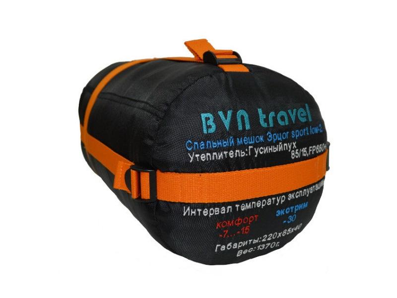 фото Пуховый спальник BVN travel Эрцог sport low-2  (t°комф. -7)