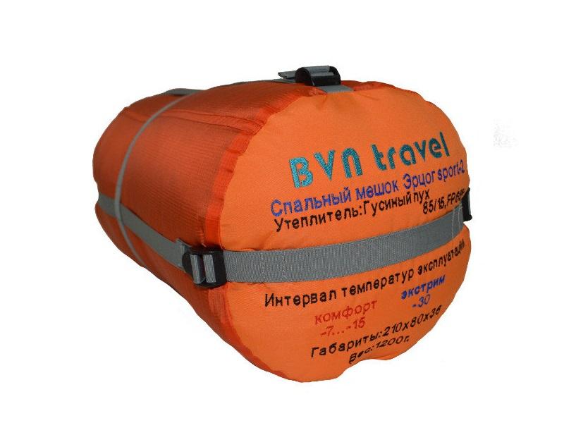 фото Пуховый спальник BVN travel Эрцог sport-2  (t°комф. -7)