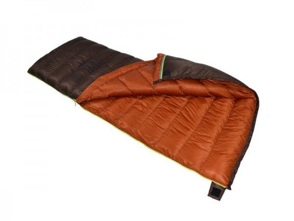 Пуховый спальный мешок-одеяло Вертикаль