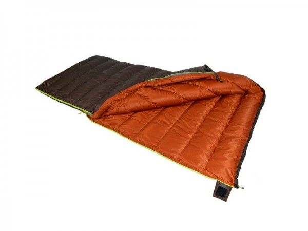 Пуховый спальный мешок-одеяло Вертикаль-2