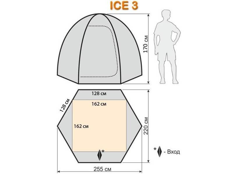 фото Палатка для зимней рыбалки Maverick Ice 3