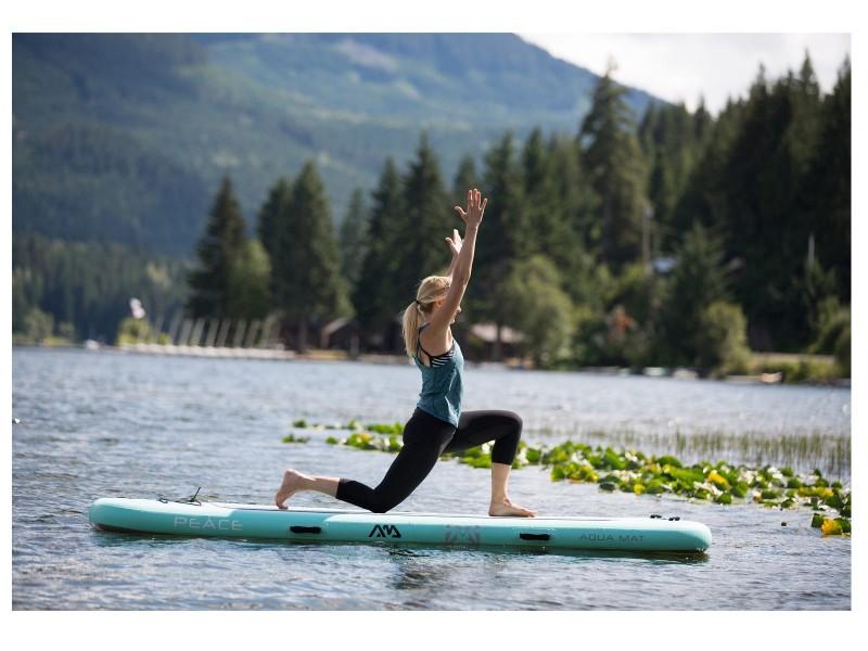 фото Сап для йоги Aqua Marina Peace — Yoga iSUP S19