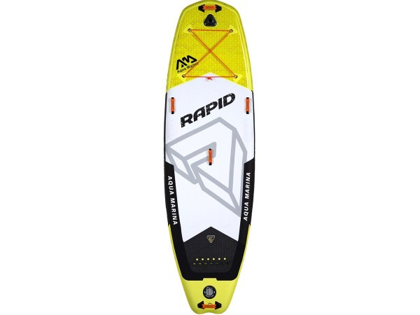 Сапборд Aqua Marina Rapid River Grey/Yellow S18