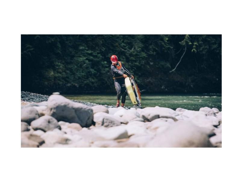 фото Сапборд Aqua Marina Rapid River Grey/Yellow S18