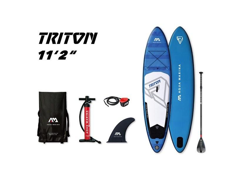 фото Сапборд с веслом Aqua Marina Triton S19