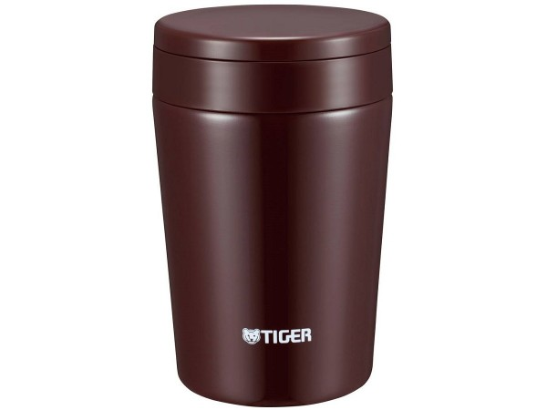 Термоc для еды Tiger MCL-A038 Chocolate Brown, 0.38 л