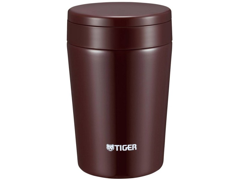 фото Термоc для еды Tiger MCL-A038 Chocolate Brown, 0.38 л