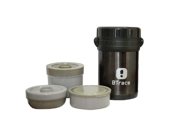 Термос пищевой BTrace 905-1500 серебристый 1500 мл