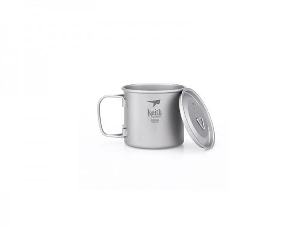 Кружка Keith Ti3240 Ultralight Mug Titan 350ml