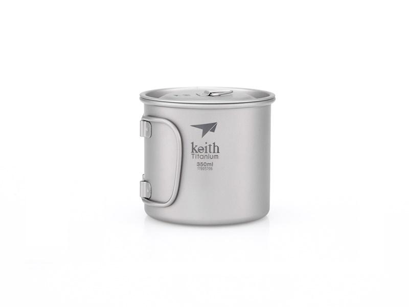 фото Кружка Keith Ti3240 Ultralight Mug Titan 350ml